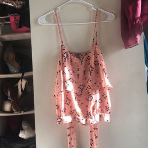 Charlotte Russe Backless Top